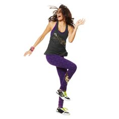 Foil Me Once Long Leggings | Zumba Fitness Shop  #zumbawear #newcollection #zwag