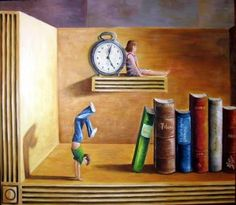 Time for books, books for time