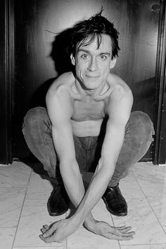 And he rides and he rides. On the 9th of August Iggy makes a stop in Vienna to to rock the Arena. // Iggy Pop, photo by Fin Serck-Hanssen, Oslo 1986