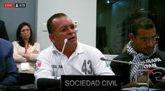 <p>México.- En la audiencia por el caso Ayotzinapa que se realizó este mediodía, en el marco del 163 periodo de sesiones de la Comisión