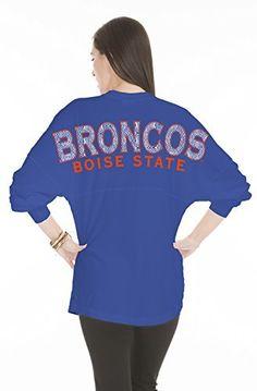 NCAA Boise State Broncos Women's Jade Long Sleeve Jersey, Medium, Royal  #Boise #Broncos #Jade #Jersey #Long #Medium #NCAA #Royal #Sleeve #State #Women's boisestategear.com