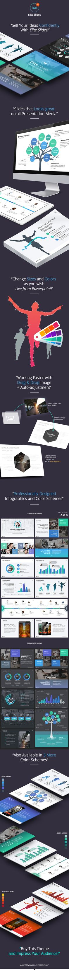 Slides Elite - Powerpoint Template (Vol. 1)