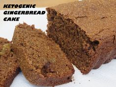 """GINGERBREAD KETO CAKE - A delicious ketogenic approved dessert from """"Ketogenic Experience Blog"""""""