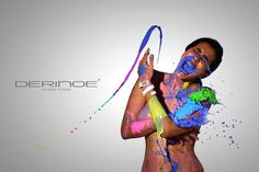 Colour explosion - Derinoe Project 2013 on Behance