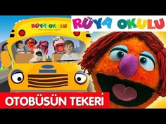 Wheels on the bus - Turkish - Otobüsün Tekeri Dönüyor - RÜYA OKULU - YouTube Wheels On The Bus, Youtube, Animals, Character, Animales, Animaux, Animal, Animais, Youtubers