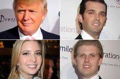 Ivana Trump children with Donald Trump - Donald Jr., Ivanka, and Eric Trump Eric Trump, John Trump, Trump Kids, Trump Children, Donald Jr, Donald Trump, Ivana Trump, Celebrity Couples, Famous People