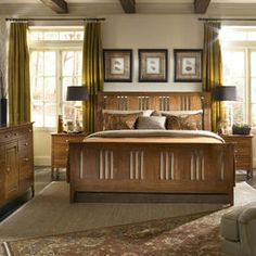 44 best arts crafts bedrooms images craftsman style craftsman rh pinterest com arts and crafts bedroom furniture plans arts and crafts bedroom chair