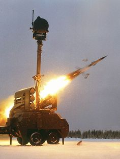 Bamse all-weather, all-target air defence missile system. - Image - Army Technology