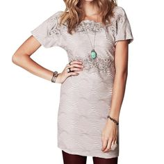 FREE PEOPLE Mini Dress Patterned Bohemian Classic Size Medium.  New without tags. $228 Retail + Tax.  • Beautiful crochet inset mini shift dress featuring diamond geometric pattern detailing and comfortable, stretchy silhouette. • Low v cutout open back with zipper. • Perfect for dressing up or down. • Cotton, polyester, spandex.  {Southern Girl Fashion - Closet Policy}  ✔️ Same-Business-Day Shipping (10am CT). ✔️ Reasonable best offer considered when submitted with the offer button. ❌ No…