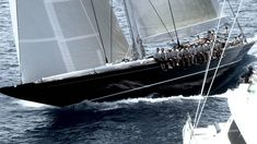 J Class Sailing- the GIANTS of the sailing world