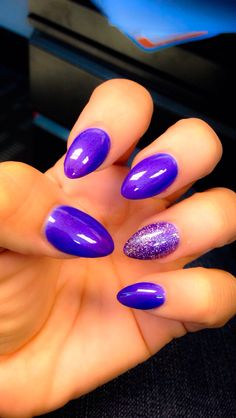 Purple gelish