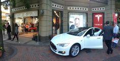 Tesla stores opened.