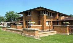 Take a look at this stunning architecture project by Frank Lloyd Wright | www.delightfull.eu/blog #architecture #residentialdesign #franklloydwright #roomdesign