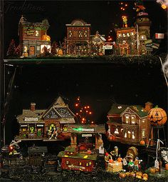 Department 56 Halloween Village