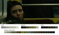 The Girl with the Dragon Tattoo, 2011.  Cinematography: Jeff Cronenweth. #cinematography #colour #film