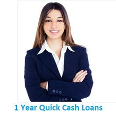 #1YearQuickCashLoans are especially designed for those peoples who want instant monetary help with flexible repayment option. Through these financial schemes they can avail the money without any hurdle and repay back within easy manner. www.1yearquickcashloans.co.uk