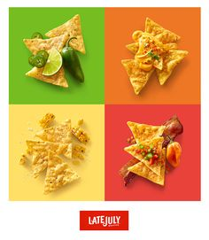Food: This possible ad shows the versatility of one food product in a fun yet simple way.