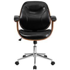 Flash Furniture High-Back Leather Desk Chair