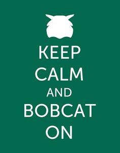 Ohio University Bobcats Digital Print (11 x 14 Instant Download) - Printable Poster