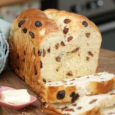 Ciabatta, Blue Berry Muffins, Muesli, Holiday Baking, Baking Recipes, Banana Bread, Delicious Desserts, Food And Drink, Stuffed Peppers