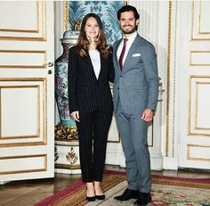 Prince Carl Philip and Princess Sofia attended the symposium about the online bullying at the Royal Palace