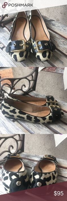 Giuseppe Zanotti design mohair buckle flats 38.5 Giuseppe Zanotti design mohair buckle flats 38.5. Leather bottoms. Pre loved. No box. Offers welcome. Giuseppe Zanotti Shoes Flats & Loafers