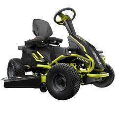 ryobi r480e electric riding mower