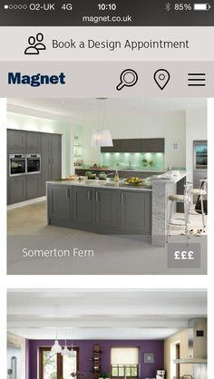 Grey kitchen doors