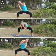 Crunch-less ab exercises