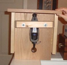 This makes the dremel or any rotary tool even more versatile! Dremel Table