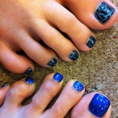Bring this picture in when you book your Royal Spa Pedicure and we can create this look for you with our OPI Shatter polish.