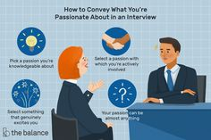"""Best answers for the job interview question """"What are you passionate about?"""", tips for the best way to respond, and examples of how to share your passion. Interview Questions And Answers, Job Search Tips, Career, Knowledge, Passion, This Or That Questions, Carrera, Facts"""