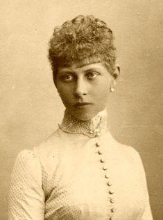 Victoria de Prusia. One of Queen Victoria's grand children.