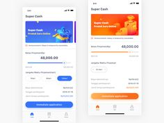 Loan Ui designed by AdaWu. Connect with them on Dribbble; Android App Design, Ios App Design, Web Ui Design, Mobile Ui Design, User Interface Design, Android Apps, Ui Components, Mobile App Ui, Ui Design Inspiration