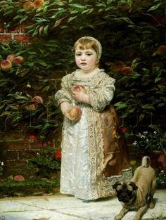 James Sant (English:1820–1916) 'Peaches'.