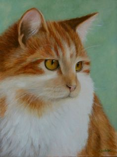 """Ginger Cat"" by Catherine Gabriel from Melbourne, Victoria Australia"