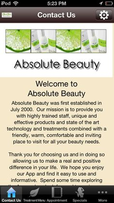 Beauty room design on pinterest treatment rooms spa for Absolute beauty salon
