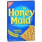 Honey Maid Graham Crackers. love these and ate them in kindergarden.