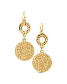 Chico's Gina Drop Earrings #chicos