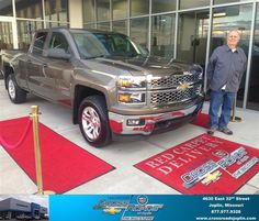 #HappyAnniversary to Ronald Mangile on your 2014 #Chevrolet #Silverado 1500 from Phillip Burnette at Crossroads Chevrolet Cadillac!