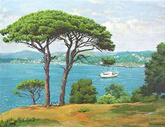 Ressam Ahmet Yakupoğlu Beautiful Paintings Of Nature, Nature Paintings, Turkish Art, Istanbul, Watercolor, Landscape, Artwork, Outdoor, Turkey