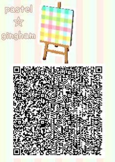 ACNL/ACHHD QR CODEWall, Floor, Fabric ACNL/ACHHD QR