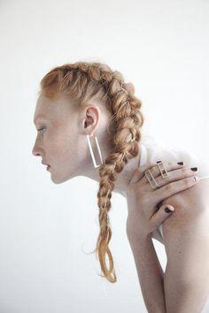 Silver Open Case Earrings | LZZR Jewelry, Inc.