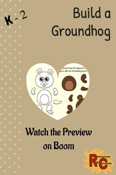 Groundhog Day is almost here! Check out this great 21-card deck on Boom Learning. Perfect for your Primary students. These self-grading cards are such fun! These activities are ideal for practising students motor skills and hand-eye coordination. This deck includes literacy & math games as well as several challenging puzzles. #rescour #boomlearning #distancelearning