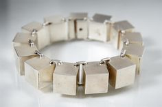 Bracelet designed by Hans Hansen, Denmark. 1960's. — Modernity