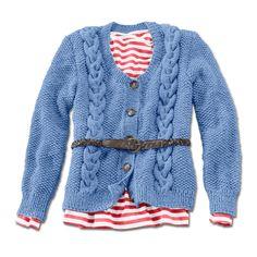 Modell 158/4, Jacke aus Landwolle von Junhgans-Wolle « Damenjacken & Mäntel « Strickmodelle Junghans-Wolle « Stricken & Häkeln im Junghans-Wolle Creativ-Shop kaufen