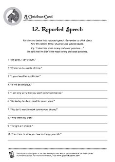 12 Reported Speech