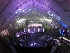 Wedding set go at The Robbinsville Fieldhouse Sports and Expo Center