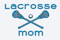 Lacrosse Mom Dad Coach Vinyl Car Van Truck by GingerSnapsGirls