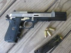Compensators: Compensators fit on the end of the barrel and allows through a precisely engineered porting system for the release of gases, limiting the vertical rise in the gun. Faster target acquisition and second shots (and follow up shots) are made possible